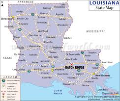 Louisiana travel keywords images State map jpg