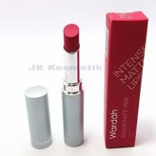 Lipstik Wardah Pink wardah matte lipstick 07 pink daftar harga