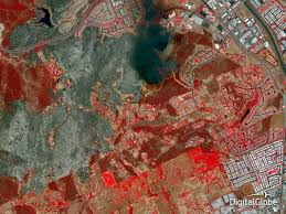 Satellite Maps 2015 2014 In Photos The Year U0027s Best Satellite Images From Digitalglobe