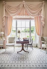 At Home Curtains At Home With India Hicks And Her Mother At The Grove In England