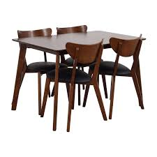 35 off wholesale interiors brown dining table set with four