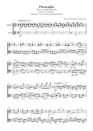 passacaglia for violin and viola halvorsen johan imslp