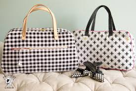 Kentucky travel handbags images Refreshed retro travel bag sewing pattern the polka dot chair jpg