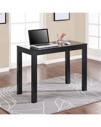 Laptop Writing Desk Spectacular Deal On Porch Den Wicker Park Alley Black Writing