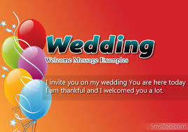 wedding wishes note wedding welcome message exles wedding wishes sms