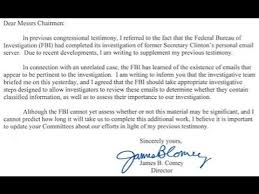 james comey reopens fbi investigation into hillary clinton u0027s
