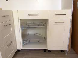 kitchen room shelfgenie pittsburgh corner glide around modern new
