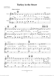 thanksgiving collection sheet for violin and piano