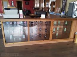 Reception Desk With Display Glass Display Cabinets Counter And Reception Desk For Sale In