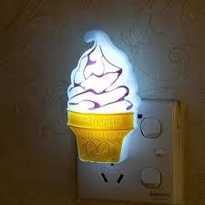 veilleuse pour chambre nouveauté led glace crème light décoration chambre le led