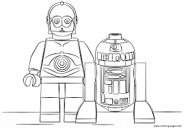 lego r2d2 and c3po coloring pages printable