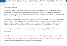 bunch ideas of asking for letter of recommendation sample graduate