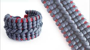bracelet knots youtube images How to make the wide bane 39 s cuff paracord bracelet tutorial knot jpg