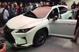 lexus sport uk lexus rx 2016 uk prices and specs announced auto express