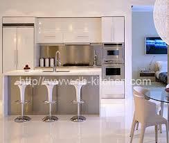 Mini Small High Gloss Acrylic Kitchen Cabinet Design - High kitchen cabinet