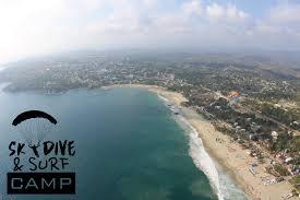 skydive puerto escondido skydive u0026 surf camp