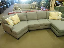 sofa lovely one seat sectional with chaise sofa one seat