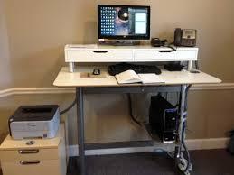 Cable Management Computer Desk Ikea Computer Desk Bekant Table Fleurdujourla Com Home