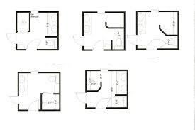 charming idea 12 4 x 5 bathroom designs small floor plans for 8