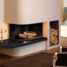 fireplace electric fireplace exposed brick with unique stone