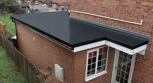 Flat Roof Roof New Grp Fibreglass Flat Roof In Sheffield Amazing