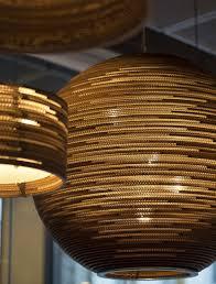 Cardboard Pendant Light Pendant Lamp Contemporary Cardboard Scraplights Sun Graypants