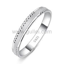 simple wedding band engraved sterling silver simple wedding band for personalized