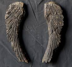 Angel Wing Wall Decor Large Decorative Angel Wings Wall Decor Antique Farmhouse