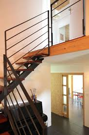 modern interior design adorable corner staircase design inside