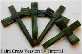 palm sunday crosses palm sunday palm cross palm and palm sunday