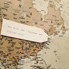 Antique World Map by Personalised Antique World Map By Maps International
