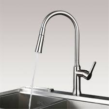 aliexpress com buy kitchen faucet brass pull out faucets aliexpress com buy kitchen faucet brass pull out faucets stainless steel brushed ceramic plate spool finish chrome cold hot mixer water tap from reliable