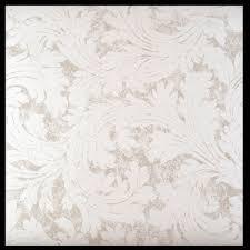 wp92 silver fern leaf vintage modern wallpaper roll 10m damask