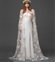 bol ro mariage blanc ivoire dentelle manteaux manteau écharpe de mariage veste
