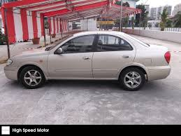 nissan sunny 2005 buy used nissan sunny 1 6exa car in singapore 9 300 search used