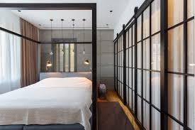 chambre architecte revêtement mural plancher et autres idées déco d un appartement design