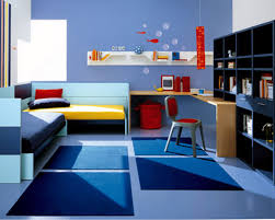 Childrens Bedroom Wall Shelves View In Gallery Add Energizing Color To The Kids Bedroom With Cool