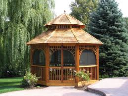 outdoor glamorous for backyard gazebo design ideas backyard
