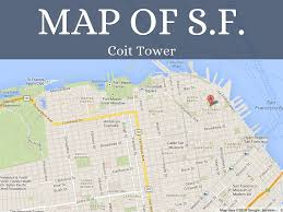 Map Of Chinatown San Francisco by Coit Tower By Mrsjaravata