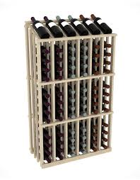 wood commercial racking for retail wine and liquor stores