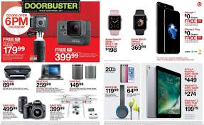 black friday 43 element tv at target target black friday doorbuster deals revealed huge savings on tech