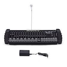 dmx light board controller amazon com ridgeyard 192ch master 240 scenes dmx 512 controller