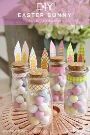 kate aspen diy easter bunny milk jar favors kate aspen