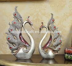 House Decoration For New Year by 2016 Creative Animals Life Size Statue Red Crowned Crane Home