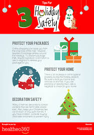 essential holiday safety tips infographic healtheo360