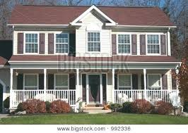 front porches on colonial homes two story front porch two story homes with front porch