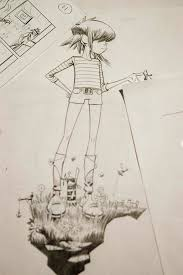 38 best gorillaz images on pinterest jamie hewlett drawings and