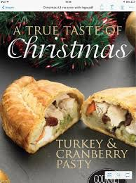 gourmet turkey turkey cranberry pasty from gourmet pasty co picture of the