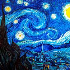 starry night leggings vincent van gogh painting