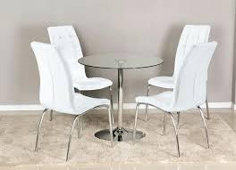 silverado chrome 47 round dining table chrome 47 round dining table stunning open cabinet round clear glass